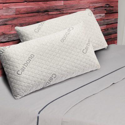 pack 2 almohadas visco carbono ambiente